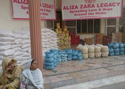 Ramadan food parcel donations