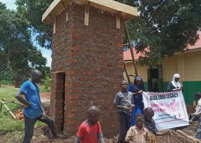 Community wells in Uganda