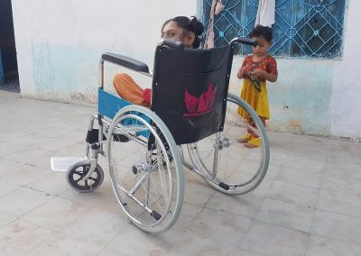Project wheelchair
