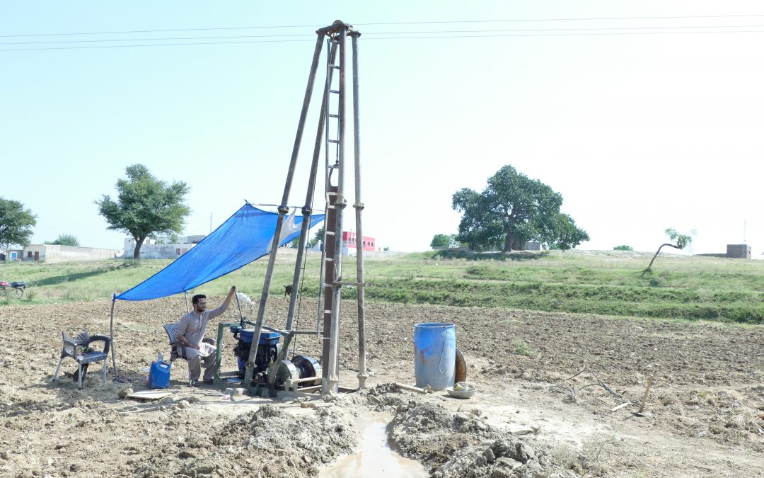 Solar wells in Pakistan
